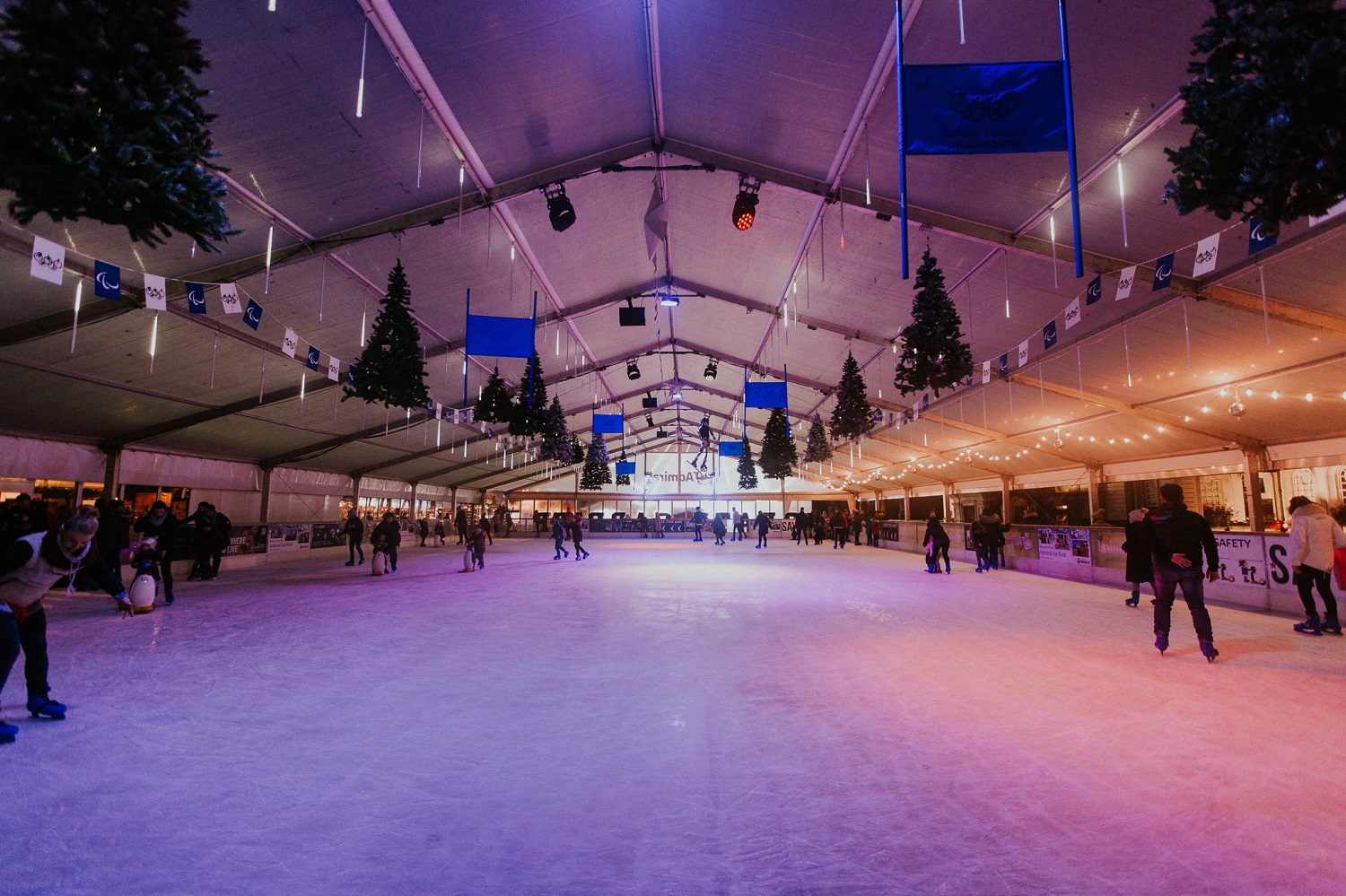 Cardiff Castle - Ice Rink